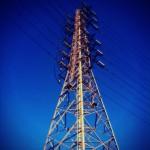 鉄塔と青空